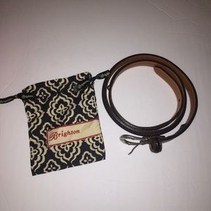 Brighton belt with small dust bag